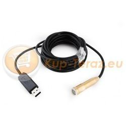 Endoskop - kamera inspekcyjna USB 5m LED