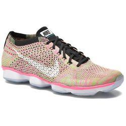 Buty sportowe Nike Wmns Nike Flyknit Zoom Agility Damskie Wielokolorowe 100 dni na zwrot lub wymianę