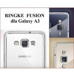 Obudowa Rearth   Etui Ringke Fusion Case + Folia ochronna   Samsung Galaxy A3   kolor Crystal View - Crystal View