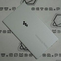 Obudowa Sony Ericsson W350i tylna / pokrywa baterii biała