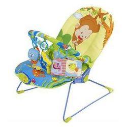 Leżaczek dla dzieci Sun Baby Monkey Różowe