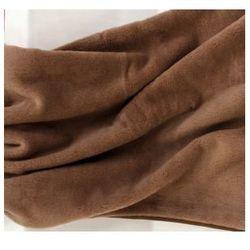 Camel 180x200cm brązowy kołdra wełniana