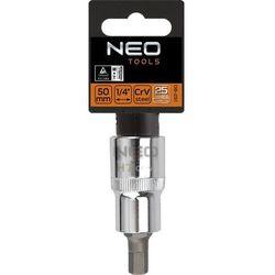 Końcówka na nasadce NEO 08-774 sześciokątna 1/2 cala H10 x 55 mm