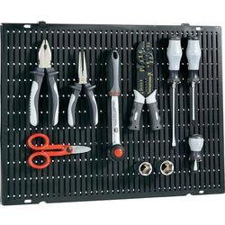 Tablica na narzędzia Toolcraft 508 x 390 x 15 mm, z możliwością rozbudowy