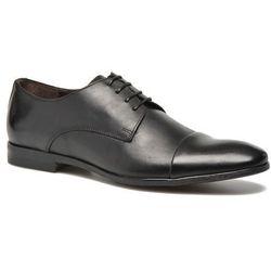 promocje - 10% Buty sznurowane Marvin&Co Nicobout Męskie Czarne 100 dni na zwrot lub wymianę