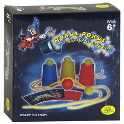 Hokus Pokus - magiczne sztuczki (zestaw fioletowy)