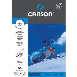Blok techniczny Canson A4/10k. 6666171 biały
