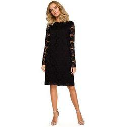b5cc0e16c70652 sliczna sukienka z koronki czarna 44 - porównaj zanim kupisz