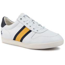 Sneakersy POLO RALPH LAUREN 809754874002 WhiteNewport NavyGold Bugle