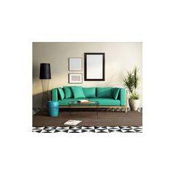Foto naklejka samoprzylepna 100 x 100 cm - Współczesny elegancki zielony tapczan, świeże marokański salon
