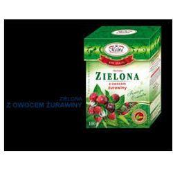 Herbata zielona z owocem żurawiny 100 g Malwa