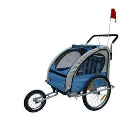Przyczepka do roweru i wózek do biegania 2w1 Zapisz się do naszego Newslettera i odbierz voucher 20 PLN na zakupy w VidaXL!