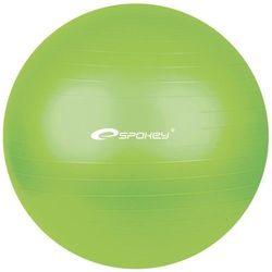 Piłka gimnastyczna FITBALL śr.65 cm + pompka Spokey (zielona)