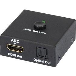 AV Konwerter SpeaKa Professional, [1x Złącze żeńskie HDMI - 2x Złącze żeńskie HDMI, Złącze żeńskie Toslink (ODT)]