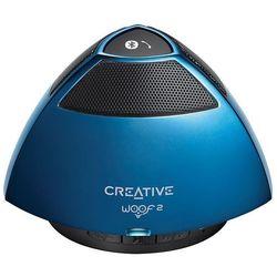 Creative Woof 2 niebieski z mikrofonem