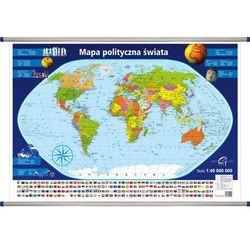 Świat mapa ścienna polityczna 1:40 000 000 ArtGlob