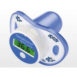 GERATHERM termometr smoczek + Nosalek Aspirator 1 szt. + 1 szt.