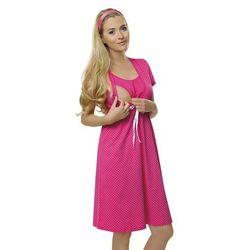 Koszula dla kobiet w ciąży i karmiących ITALIAN FASHION Radość różowa