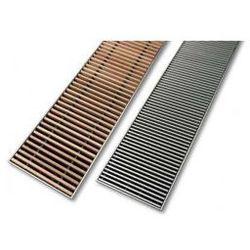 Kratka zwijana Vasco (KZ) szerokość 20 cm, długość 160 cm - aluminium KZ-160/20/ANA
