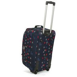 Średniej wielkości torba podróżna na kółkach