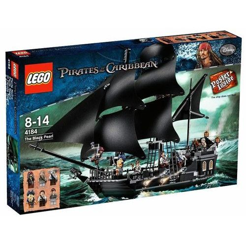 Lego PIRATES OF THE CARIBBEAN Statek czarna perła 4184
