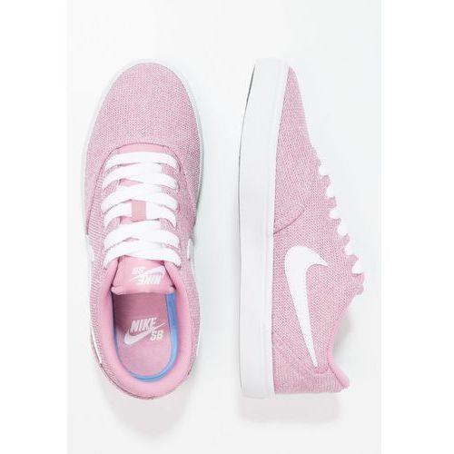 przytulnie świeże przybywa zakupy Nike SB CHECK SOLAR Tenisówki i Trampki elemental pink/white ...