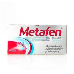 Metafen 50 tabletek