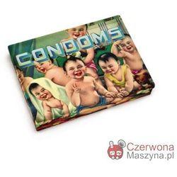 Pudełko kieszonkowe Blue Q Condoms