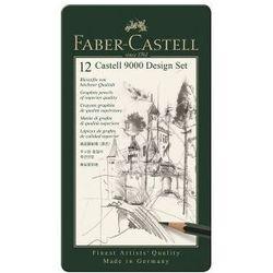 Zestaw ołówków ołówek FABER-CASTELL Design 12 szt