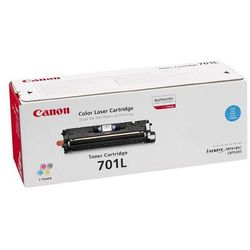 Canon oryginalny toner EP701, cyan, 2000s, 9290A003, Canon LBP-5200, Base MF-8180c