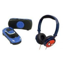 Słuchawki Nauszne Dla Dzieci Spiderman + MP3 Niebieski