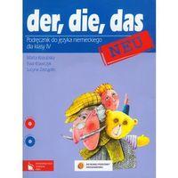 Der die das neu 4 podręcznik z płytą CD (opr. miękka)