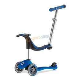 Hulajnoga, rowerek biegowy 3-kołowy Globber NTGB 451 4w1 My Free Sea SMJ (niebieska)