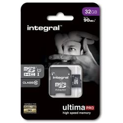 INTEGRAL Karta pamięci micro SDHC 32GB UHS-I 90MBS