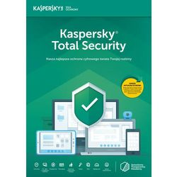 Kaspersky Total Security multi-device 5PC/2Lata Odnowienie