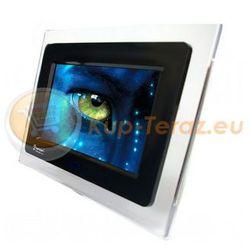 Ramka Cyfrowa LED 7 JPG MP3 DIVX AVI Pilot