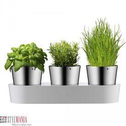 Samopodlewające się doniczki na zioła WMF Gourmet