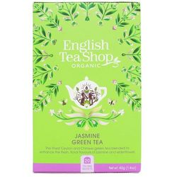 Herbata zielona jaśminowa 20x2g BIO 40 g English Tea Shop