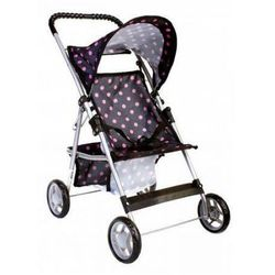 Mega Creative Wózek dla lalek spacerówka w groszki