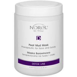 Norel (Dr Wilsz) PEAT MUD MASK THERAPEUTIC FOR FACE AND BODY Maska borowinowa terapeutyczna na twarz i ciało (PN133)