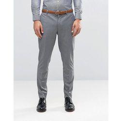 Jack & Jones Premium Skinny Suit Trouser in Grey - Grey