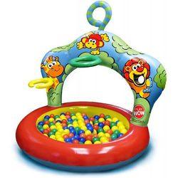 Play Wow, Dżungla, nadmuchiwany basen z 20 piłeczkami Darmowa dostawa do sklepów SMYK