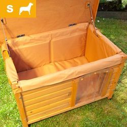 Izolacja do budy dla psa Woody, S - S: dł. x szer. x wys.: 74 x 44 x 42 cm