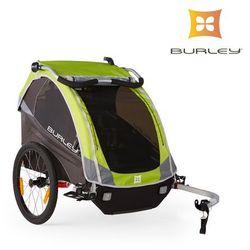Przyczepka rowerowa Burley D'lite NEW 2016 zielona amortyzowana