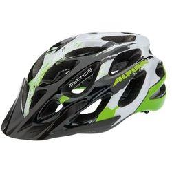 ALPINA Mythos 2.0 - Kask rowerowy, 57-62cm - White-Green (57-62cm)