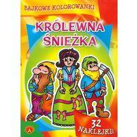 Bajkowe kolorowanki Królewna Śnieżka - Praca zbiorowa - Zakupy powyżej 60zł dostarczamy gratis, szczegóły w sklepie