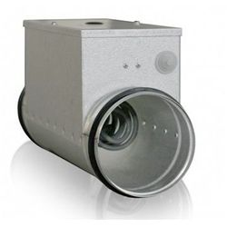 Okrągła kanałowa nagrzewnica elektryczna EKA 100-1,2-1f