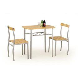 Zestaw HALMAR LANCE stół + 2 krzesła