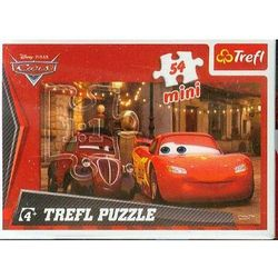 Puzzle mini 54 Auta Zygzak czerwony