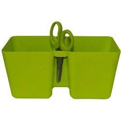 Doniczka na zioła Limes Cube zielony